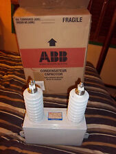 ABB Outdoor Power Capacitor, 15000 volts, 60 hz, 50 kvar, huge! 45 pounds! NEW