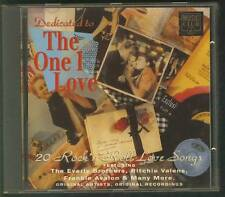 DEDICATED TO THE ONE I LOVE 1992 CD Everly Brothers Curtis Lee Frankie Avalon