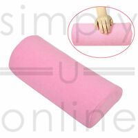 PINK Soft Hand Cushion Pillow Rest for Nail Art Acrylic Manicure