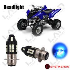 Headlights For Yamaha Raptor 700 700R 2006-2018 White 6000K LED Bulb H6M 2PC