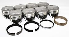 "Sealed Power Chevy 350 4.030"" .125 Domed Pistons & Moly Rings Kit SBC H618CP30"