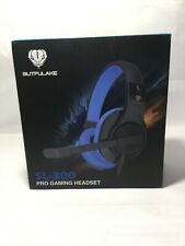 BUTFULAKE Stereo Gaming Headset Lightweight 3.5mm Wired Volume Control with Mic