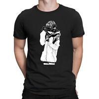 Cold - Sad Japanese Aesthetic Graphic Anime T-Shirt Fashion Men's Cotton Tee NEW