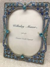 Wellesley Manor 3 1/2� x 5� Frame With Genuine Czech Crystals