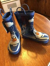 """Disney's """"FROZEN"""" Boys  'OLAF Boots - Size 11/12 - New With Store Tags"""
