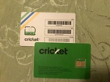 CRICKET Micro  SIM card - Brand New & Unactivated