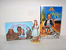 LOT 3 Wizard of Oz = 30 postcards + Judy Garland ToTo AVON + 1996 VHS MGM