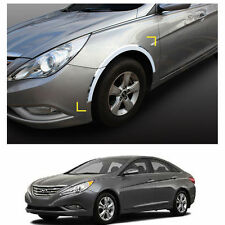Chrome Side Wheel Fender Trim Moulding for Hyundai Sonata / i45 2011-2014