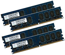 4x 2gb 8gb ECC unbuffered memoria RAM ddr2 800 MHz UDIMM pc2-6400e 240p