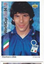 GIANFRANCO ZOLA Rare '94 WORLD CUP CARD with ITALY