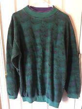 Men's Vintage 90s Sweatshirt Pullover Hip Hop Large Funky