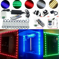 US 10ft~160FT SMD 5050 3 LED Module Lights Kit For STORE FRONT WINDOW SIGN Lamp