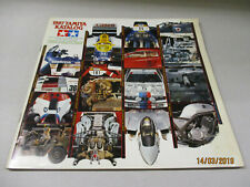 Tamiya Model Bausätze Katalog  1987