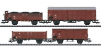 Trix 24128 HO Gauge DR Goods Wagon Set (4) III