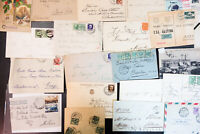 Italy 1800s to mid-1900s Massive Commercial Stamp Cover Collection 650+ Items
