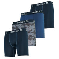 Reebok Men's Performance Boxer Briefs 4-Pack