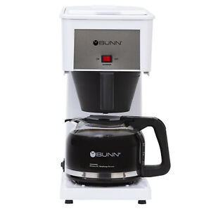 BUNN GRW Speed Brew Classic Coffee Maker, 10-Cup, White NEW