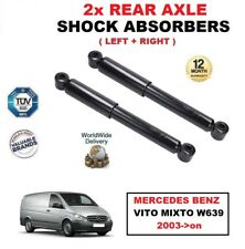 FOR MERCEDES BENZ VITO MIXTO W639 2003->on REAR AXLE LEFT RIGHT SHOCK ABSORBERS