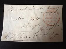 WILLIAM AUGUSTUS JOHNSON - PENINSULAR WAR GENERAL & MP - SIGNED ENVELOPE FRONT