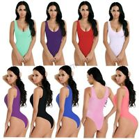 Women's Lingerie See-through Swimwear High Cut Bikini Leotard Thongs Bodysuit
