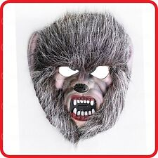 WOLF APE WILD HAIRY MAN SAVAGE MONSTER DEVIL MASK-COSTUME-DRESS UP-HALLOWEEN