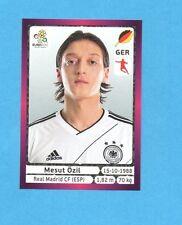 PANINI-EURO 2012-Figurina n.241- OZIL - GERMANIA -NEW-DARK BOARD