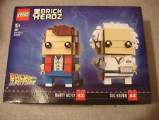 LEGO 41611 Brickheadz RITORNO AL FUTURO BACK TO THE FUTURE NEW McFly DOC Top