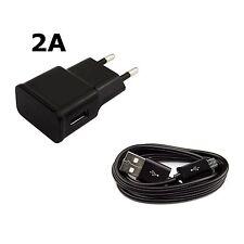 2in1 Ladegerät Ladekabel Micro USB Kabel Netzteil 2A Samsung Galaxy HTC LG Sony