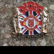 Manchester Utd somme ww1 loyalist poppy badge