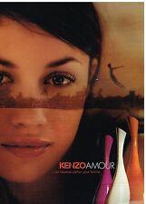 Publicité Advertising 2006 Parfums Kenzo Amour