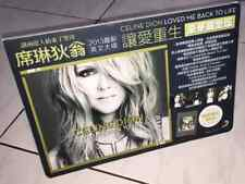 Celine Dion 2013 Loved Me Back To Life Taiwan Edition Promo Cardboard Display