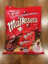 Maltesers Milk Chocolate 144g - 12 Mini Packs per Bag