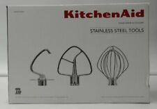 NEW OPEN BOX KitchenAid Stainless Steel 3-Piece Kit $129.99