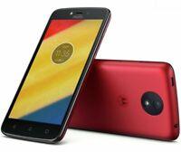 Motorola Moto C Plus - 16GB - Metallic Cherry (Unlocked) Smartphone