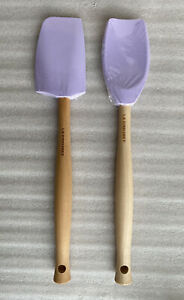 Le Creuset Lavender / Powder Purple Craft Series Spatula Spoon & Medium Spatula