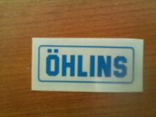 adesivo  OHLINS