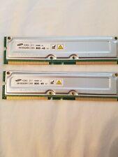 Samsung RIMM-1600 (PC800) 64 MB RIMM 800MHz RDRAM (Rambus DRAM) Memory...