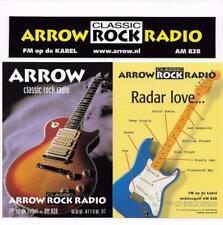 QSL Arrow Classic Rock Radio Sticker 2001 The Hague Netherlands 828 AM DX SWL