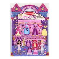 Melissa And Doug Princess Puffy Reusable Sticker Play Set NEW Toys Arts Fun Kids