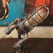 3D Steampunk Space Shuttle Rocket Night Light Led Table Desk Lamp Room Father's