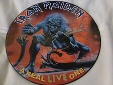 33T.IRON MAIDEN.A REAL LIVE ONE.EDITON UK. EDITION LIMITEE 500 COPIES