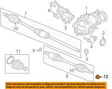 JAGUAR OEM 14-18 F-Type Brake-Rear-Wheel Stud Lock Nut C2P12731
