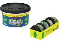 4x Little Tree Magic Car Air Freshener NEW CAR SCENT Fragrance Fiber Can 30g