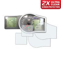 2 x KTM Adventure 1050 1090 1190 Dashboard Screen Protector: Ultra-Clear