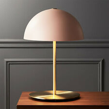 Nordic Post Modern Metal Table/ Desk Lamp Pink & Brass Finish Reading Light Deco