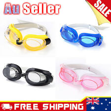 Kids Children Adjustable Swimming Swim Anti-Fog UV Glasses Goggles Boys Girls