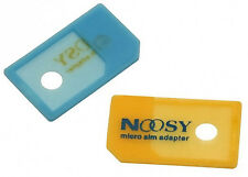 NEW! 2 X Micro SIM to SIM Adapter for iPad 2 iPhone 4G