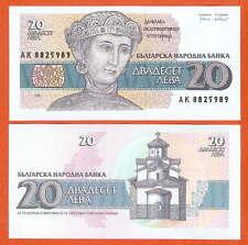 P100  Bulgarien / Bulgaria   20  Leva 1991  UNC