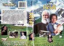 Heidi (1993) VHS NTSC (VERSIONE IN LINGUA ORIGINALE) 165 MIN. WALT DISNEY