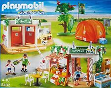 PLAYMOBIL 5432 Summer Fun - Großer Campingplatz Neu/Ovp